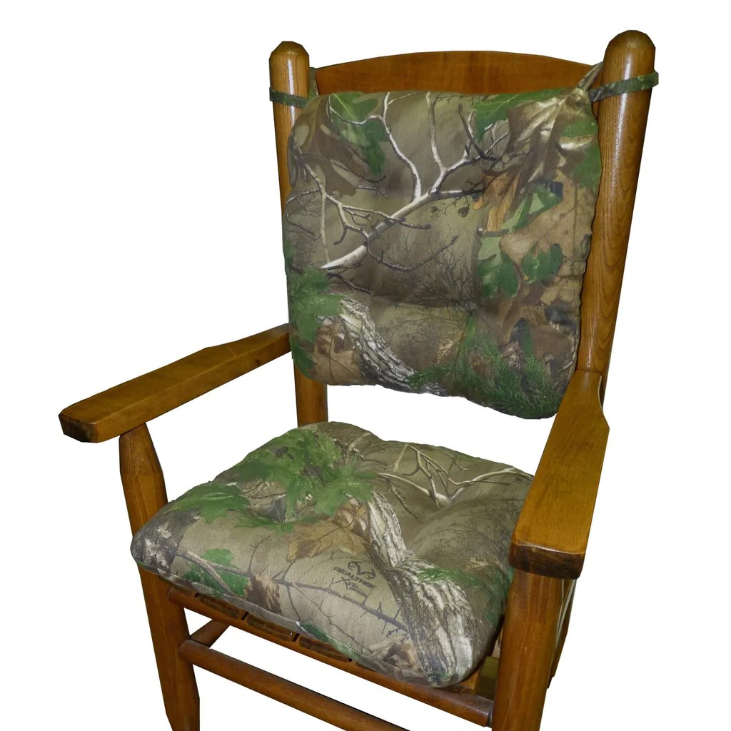 green chair cushions cover hire northumberland child rocking realtree xtra r camo made barnett home decor