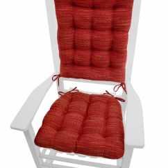 Red Kitchen Chair Pads Heavy Duty Recliner Lift Chairs Brisbane Tweed Rocking Cushions Latex Foam