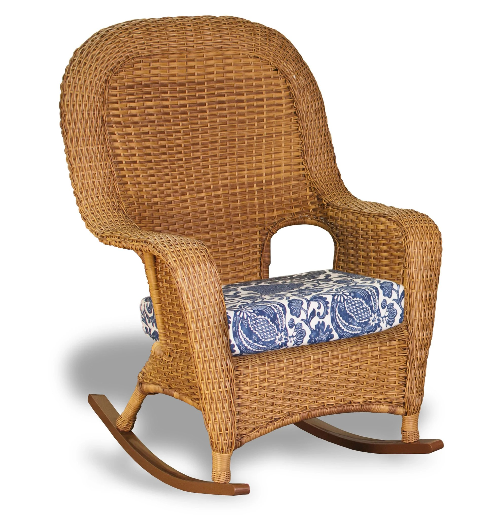wicker rocking chairs kids study table and chair the sea pines all weather bundle tortuga outdoor