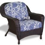The Sea Pines All Weather Wicker Club Chair Tortuga Outdoor