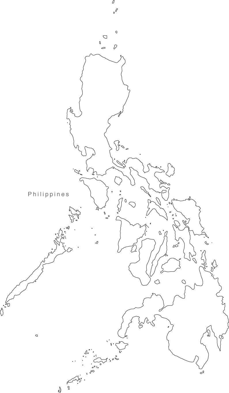 Digital philippines map for adobe illustrator and powerpoint phl xx 624368 philippines digital raster vector powerpoint