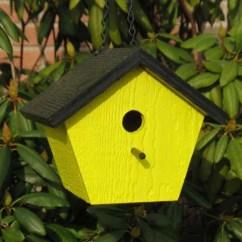 Yellow Kitchen Accessories Colored Sinks Shapz Birdhouse - Polygon – Backyard Life