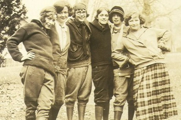 History of Women Wearing Men's Clothing
