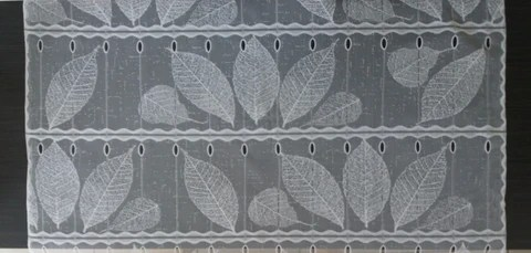 rideau voilage blanc 90 cm de largeur