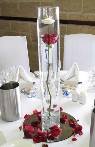 wedding decoration cylinder vase