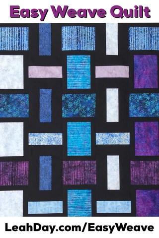 Basket Weave Quilt Pattern : basket, weave, quilt, pattern, Weave, Quilt, Pattern, LeahDay.com