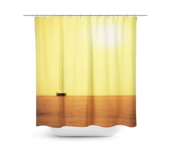 country minimalist shower curtain sylvia coomes