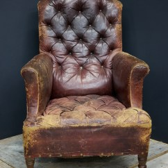 Distressed Leather Armchair Uk Reading Poolside Lounge Chair  Drew Pritchard Ltd