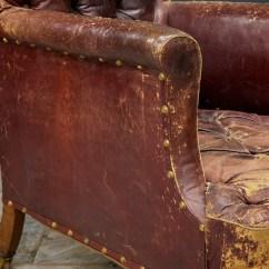 Distressed Leather Armchair Uk West Elm Desk Chair  Drew Pritchard Ltd