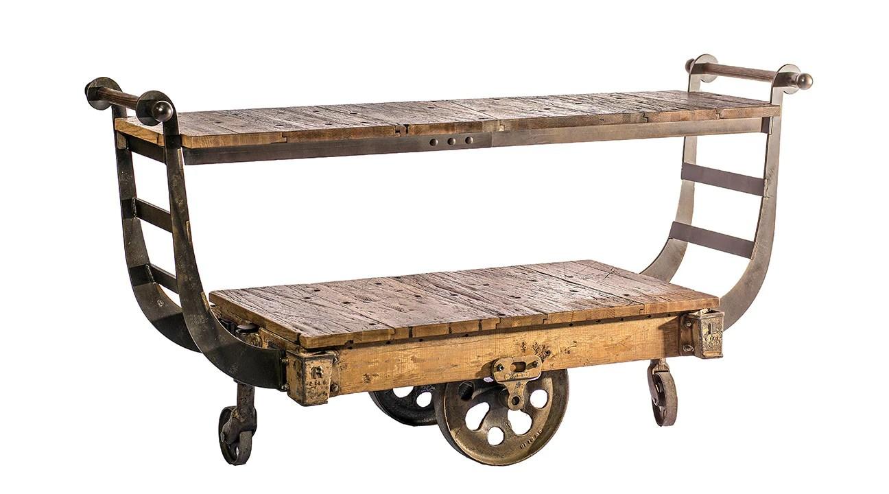 antique lineberry cart
