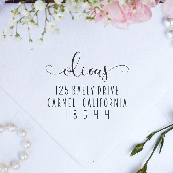 return address stamps stamp