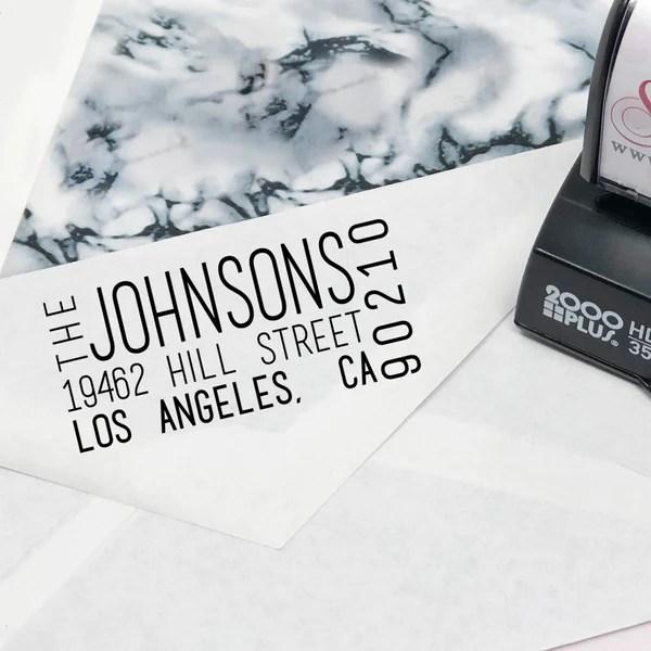 return address stamps translation