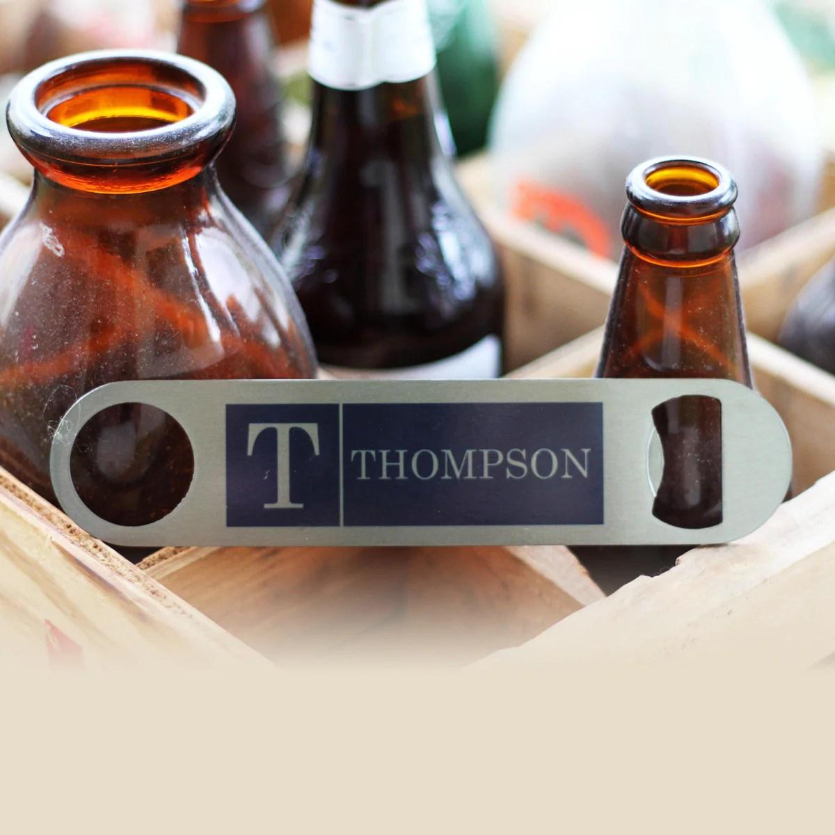 personalized bottle opener thompson