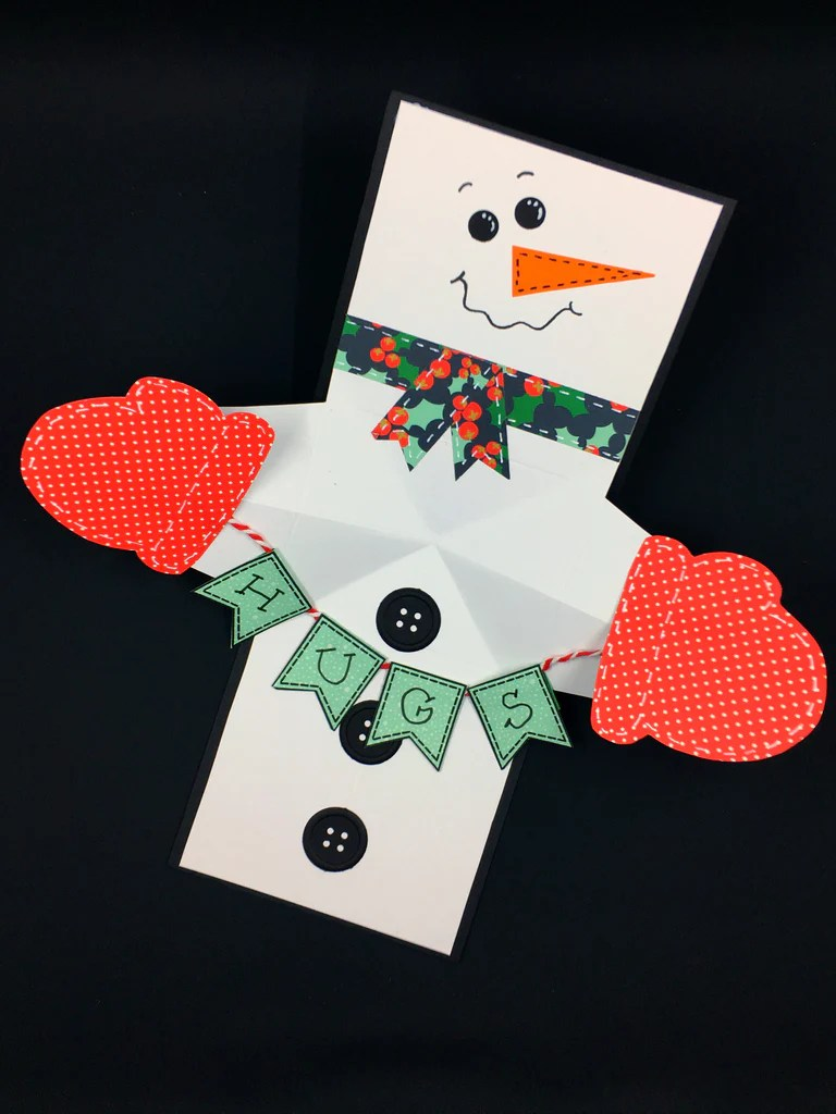 Maymay Made It Tagged Snowman Twist And Pop Card
