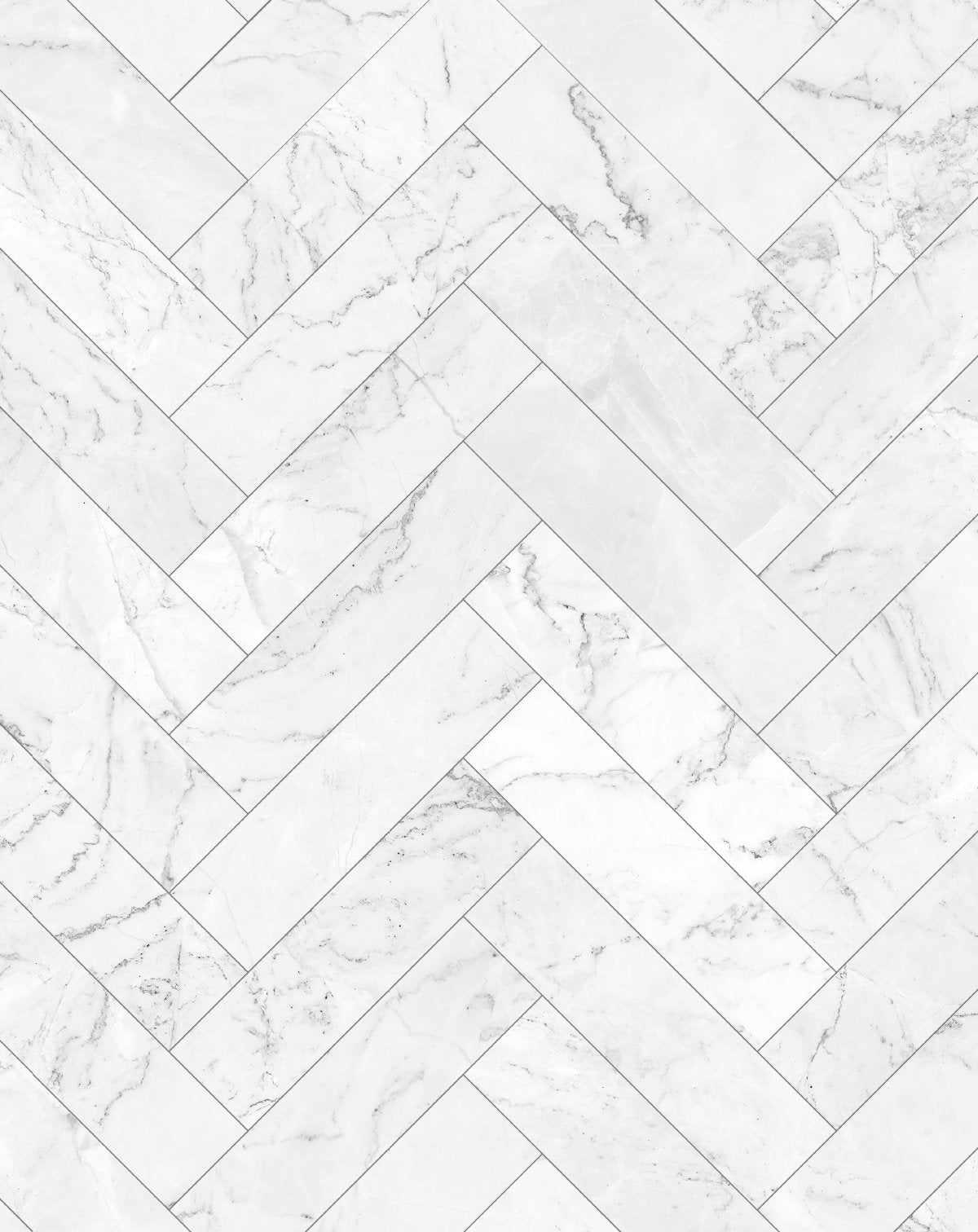 marble herringbone tile wallpaper