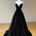 Long Black Velvet Evening Dress Off 50 Www Abrafiltros Org Br