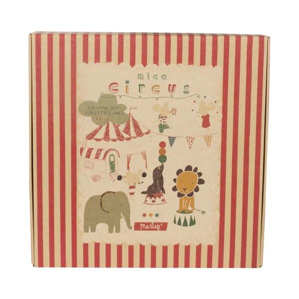 Maileg Circus Tent with Podium and Cutting Sheet – Petit Bazaar