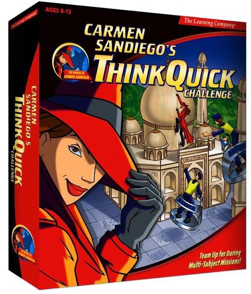 carmen sandiego think quick