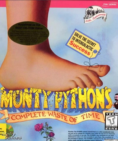 MONTY PYTHON'S COMPLETE WASTE OF TIME MAC GAME +1Clk Macintosh OSX Ins – Allvideo Classic Games