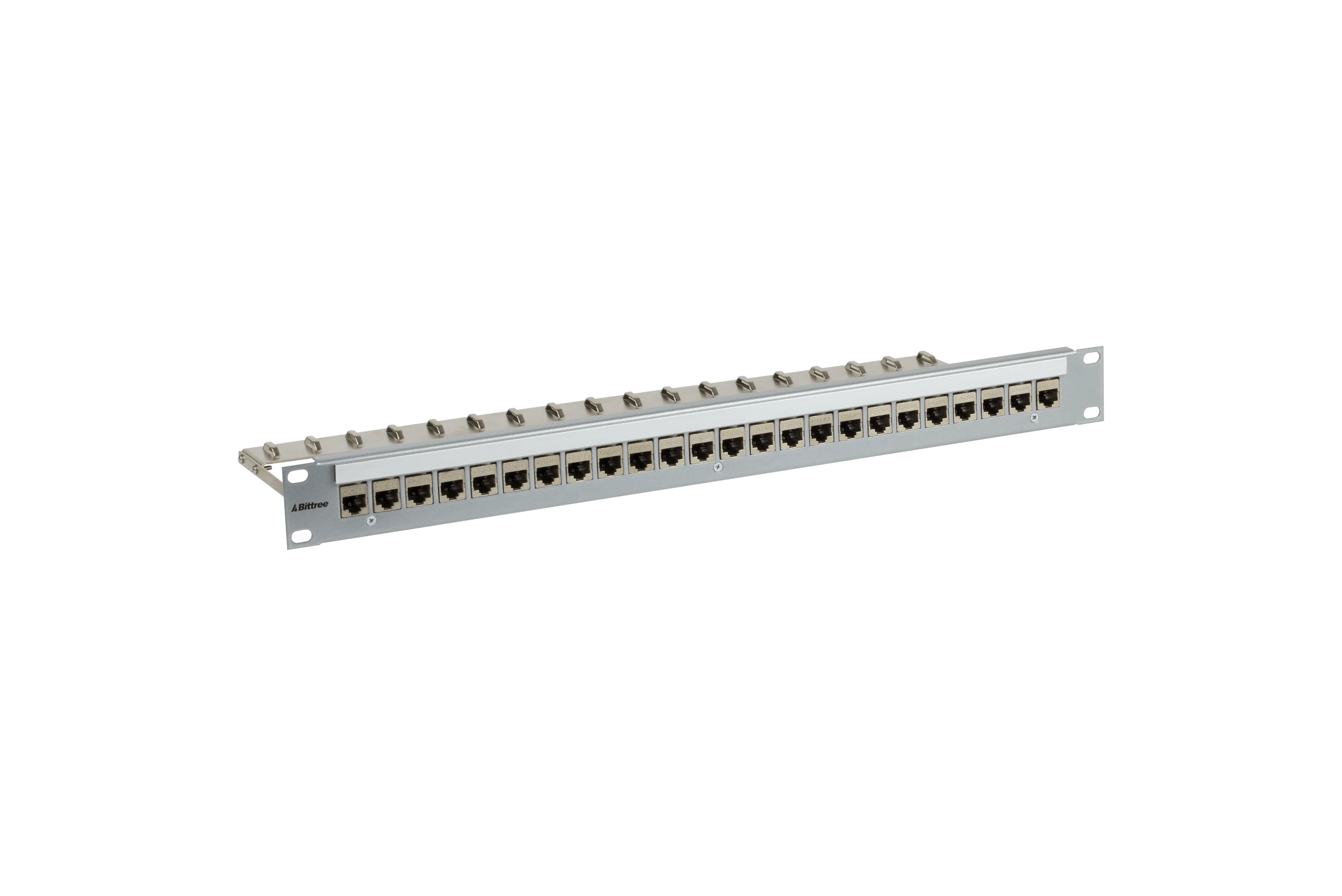 medium resolution of  flush mount modular keystone panel cat 6a 110 punchdown shielded 1x24