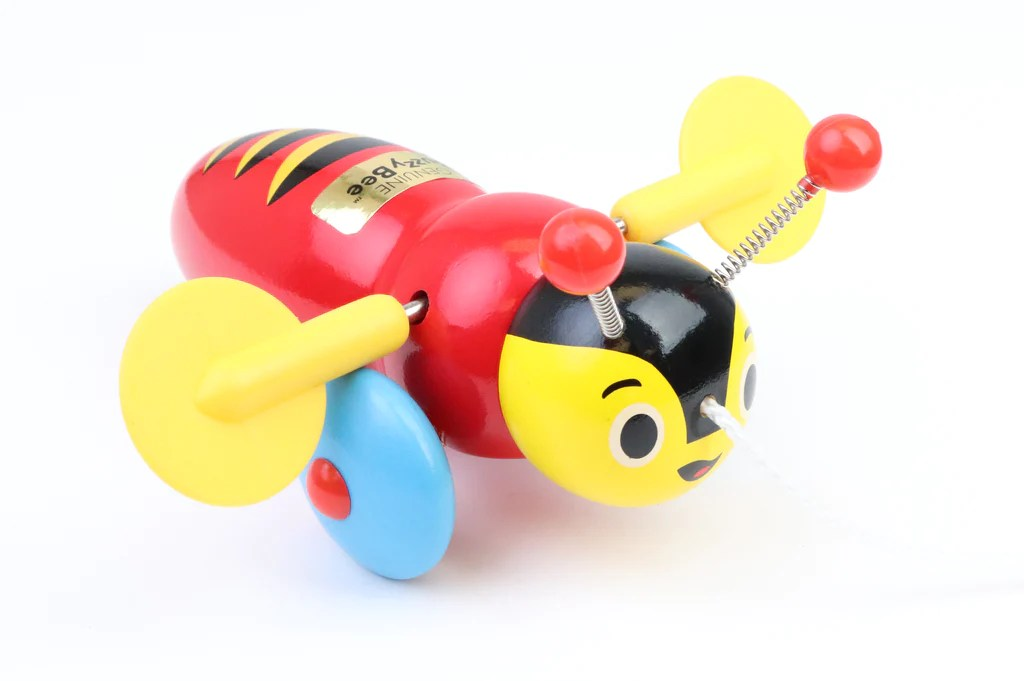 Buzzy Bee Wooden Pull Along Toy Buzzy Bee Friends