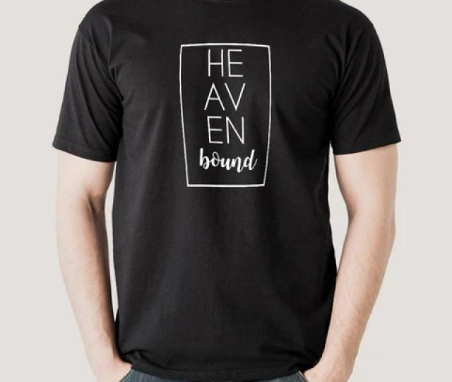 Heaven Bound Mens Christian T Shirt