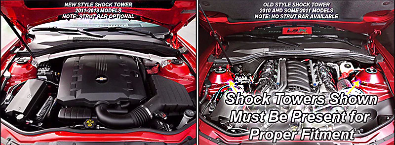medium resolution of click here to see camaro shock tower options