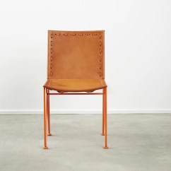Leather Dining Chairs European Chair Covers Saddle Garza Marfa