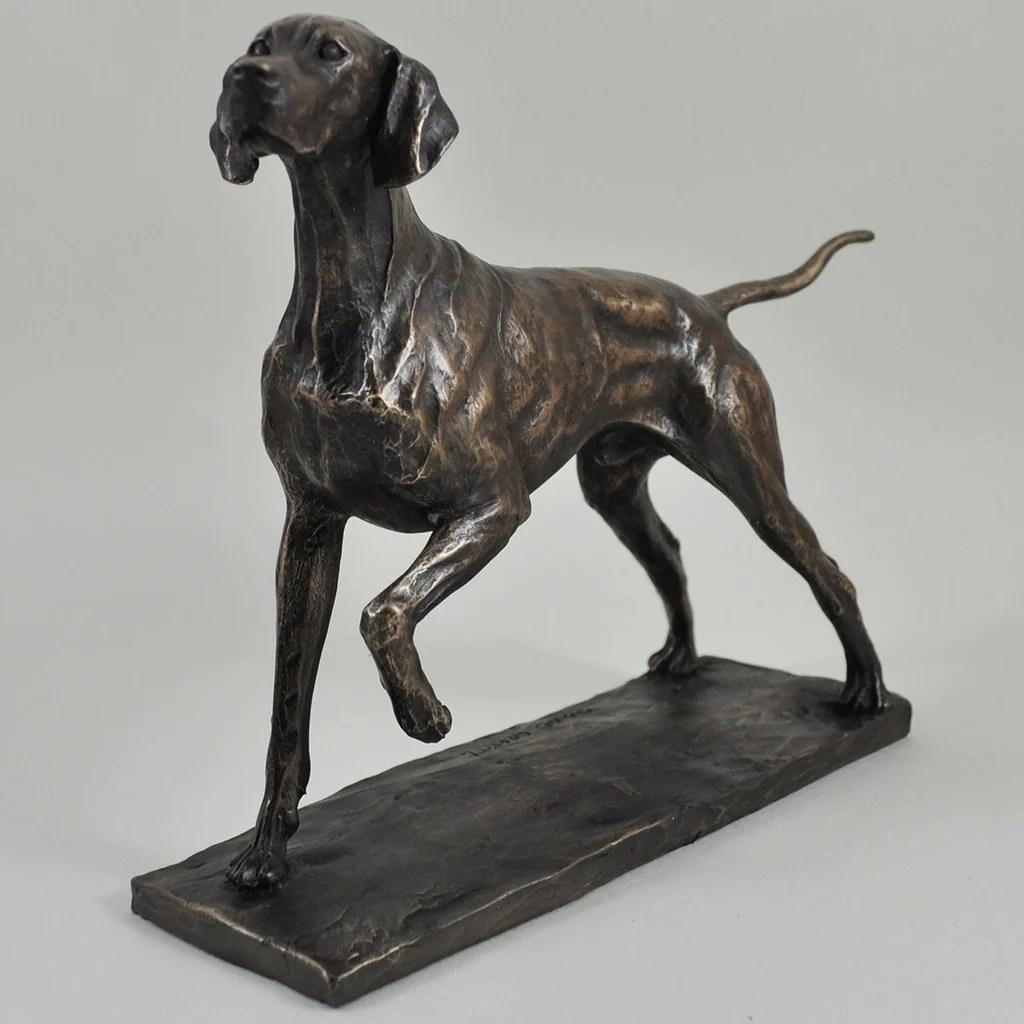 Cold Cast Bronze Dog Sculptures