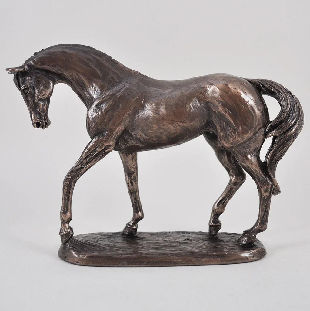 Race Horse Bronze Sculptures