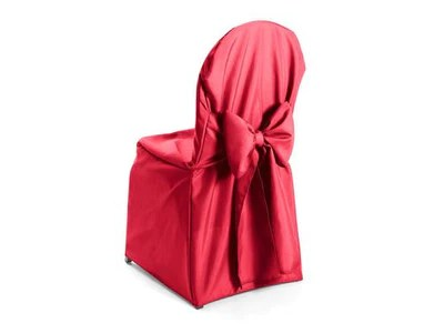 neon pink chair top computer chairs premium polyester banquet cover with ties attached union square linens