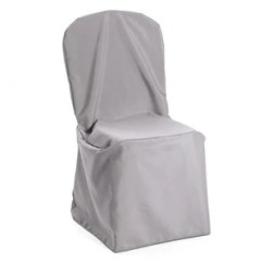 White Universal Chair Covers Gold Vanity Premium Polyester Cover Union Square Linens