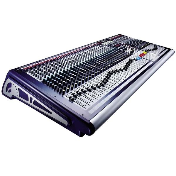 soundcraft gb8 40 ch console