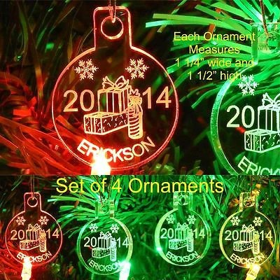 Christmas Ornaments Names