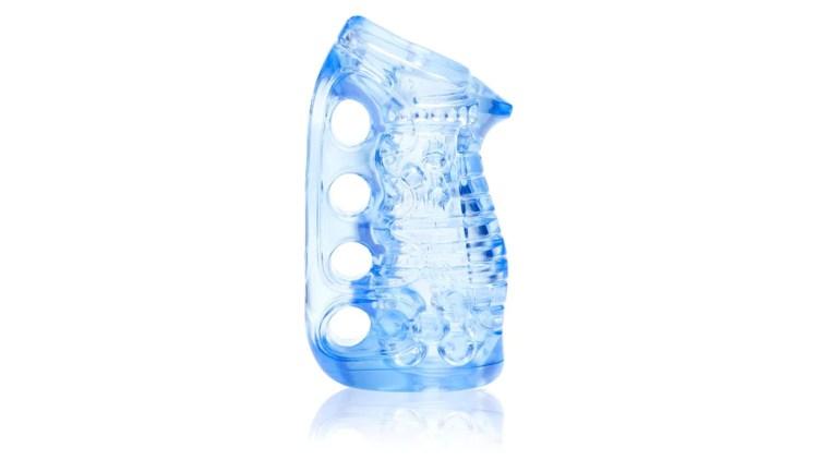 Fleshlight flesh light fleshskin blue ice hand job stroker adult sex toy