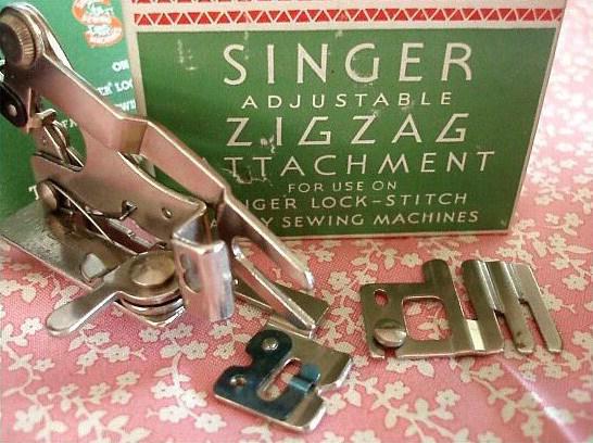 Singer Featherweight 221 Zigzag Adjustable Attachment
