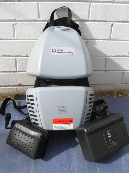 Nilfisk Bacuum Backpack Battery Powered Vacuum Cleaner
