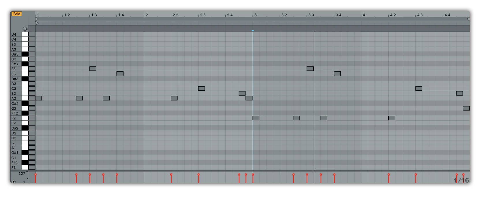 hight resolution of a b type melody trap beat