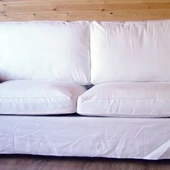 Two Seater Sofa Bed Cover Dwr Bantam Review Ikea Ektorp This Slipcover Replacemen