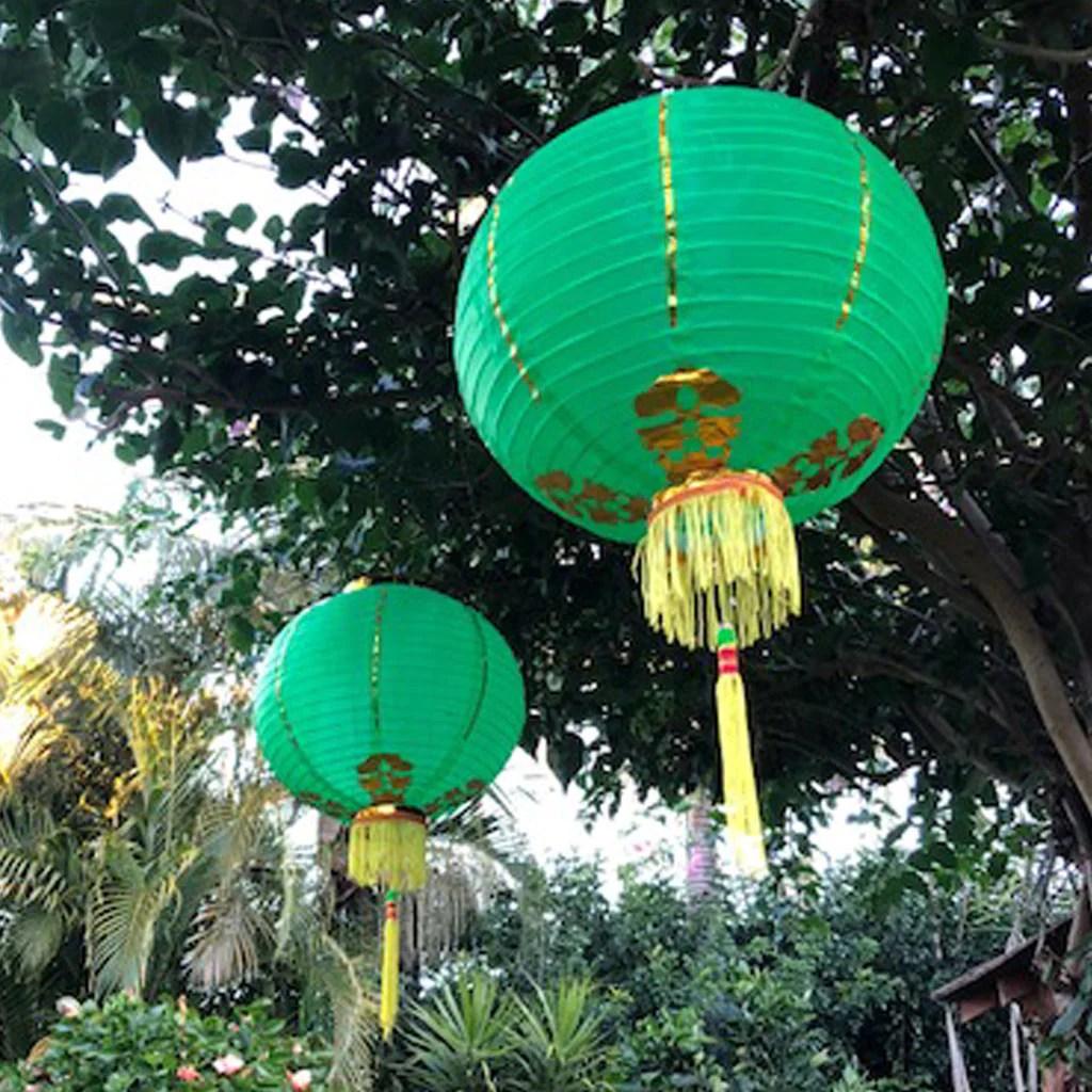 medium chinese lantern hanging