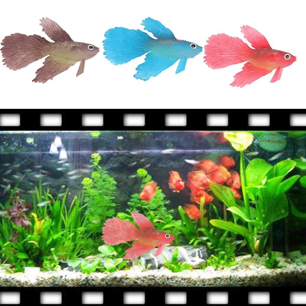 1pcs Plastic Floating Artificial Mini Tropical Fish