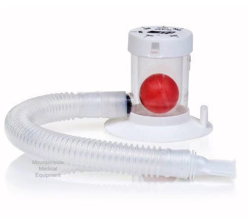 Hudson RCI Incentive Spirometer with Mouthpiece — Mountainside Medical Equipment