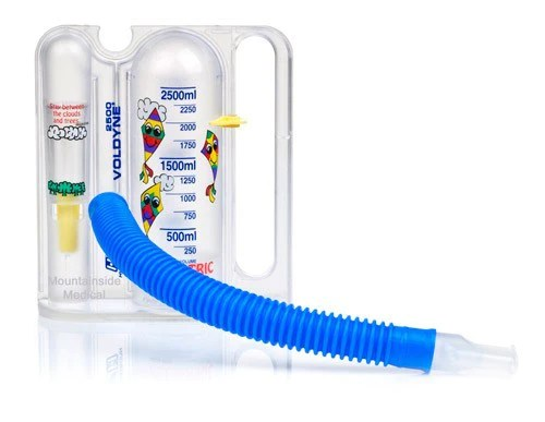 Buy pediatric voldyne volumetric incentive spirometer breathing exerciser online used to treat spirometers medical also rh mountainside