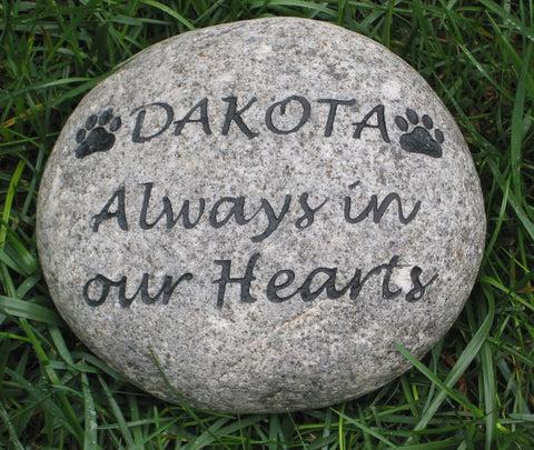 pet memorial stone grave