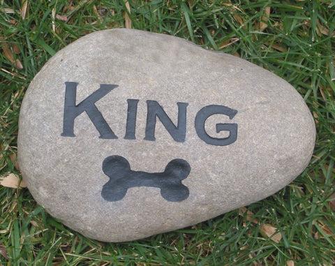dog bone garden memorial