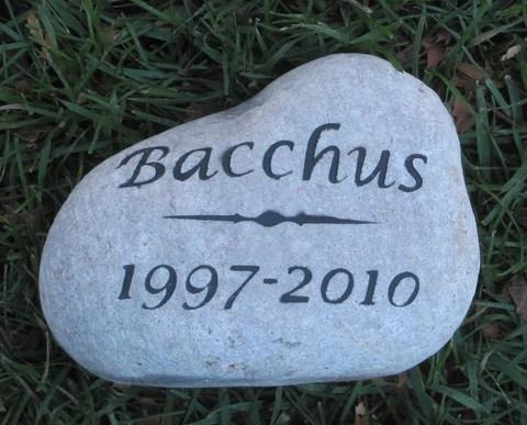 pet memorial stone gravestone