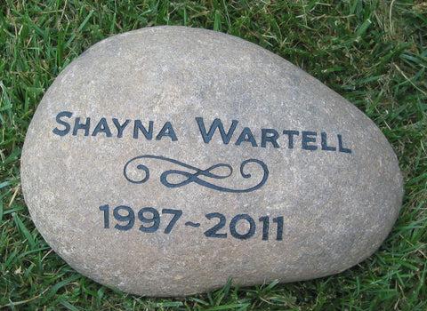 memorials stones pet or