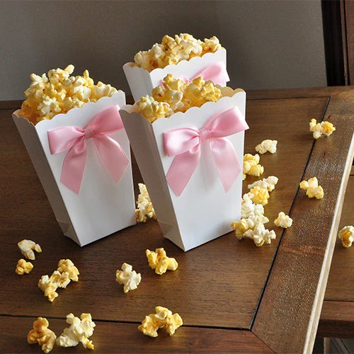 About Pop Baby Shower Popcorn Bags