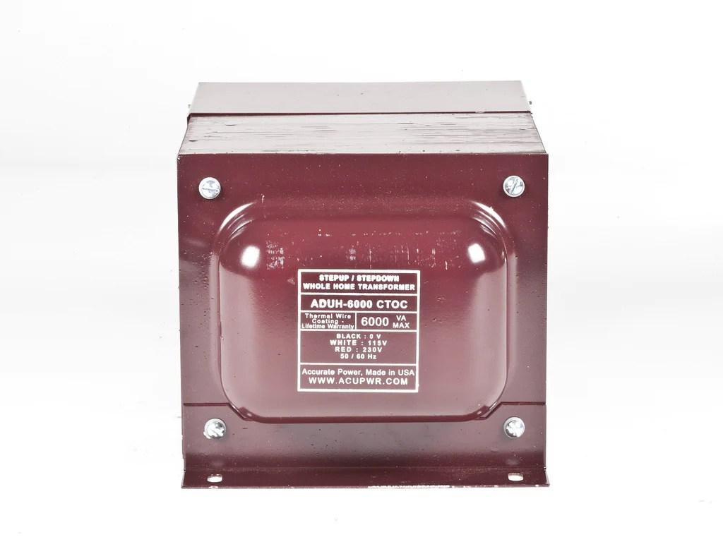 medium resolution of 6000 tru watts step up step down hard wire voltage