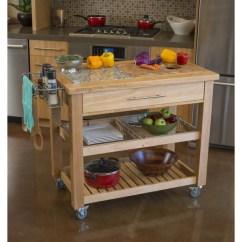 Granite Top Kitchen Cart Storage Unit Chris Pro Chef Island Food Prep Station W Intrigue